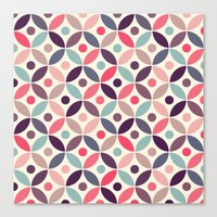 Batik Kawung Canvas Print