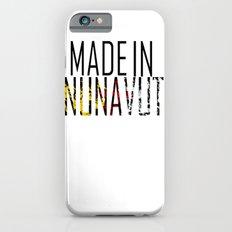 Made in Nunavut iPhone 6s Slim Case