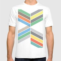 Convergence Mens Fitted Tee White SMALL