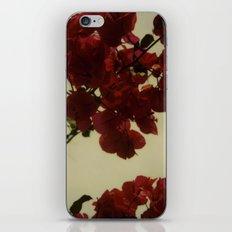 Floral Formula Polaroid iPhone & iPod Skin