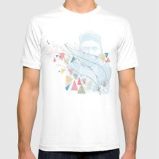 Native Mens Fitted Tee White SMALL