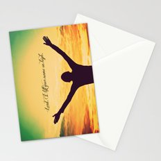 On High Stationery Cards