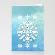 Polar Bear Mandala Stationery Cards