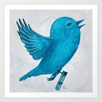 The Original Twitter - P… Art Print