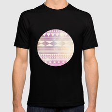 Galaxy Tribal SMALL Black Mens Fitted Tee