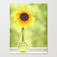 Soak Up The Sun Canvas Print