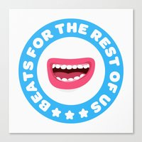 Beatbox for the rest of us Canvas Print