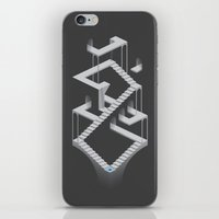 Monument Maze 2 iPhone & iPod Skin