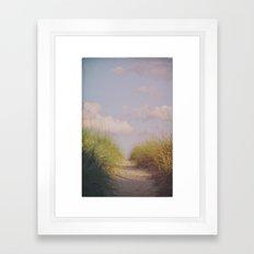 To the Shore Framed Art Print