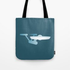 Star Trek USS Enterprise Tote Bag