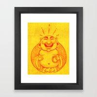 Laughter Brightens The S… Framed Art Print