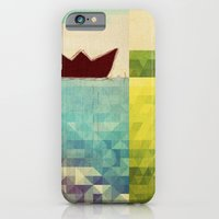 iPhone & iPod Case featuring red boat by Laura Moctezuma