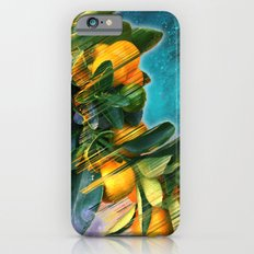 Small Fruit Tree In Oute… iPhone 6 Slim Case