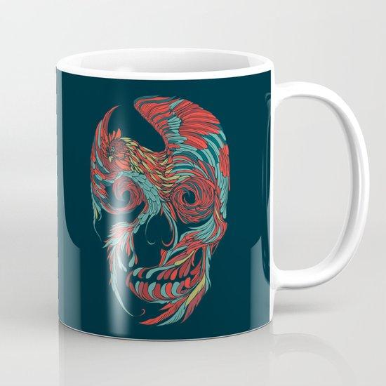Rooster Skull  Mug