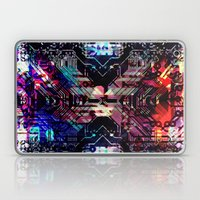 Circuit Board Shadow Laptop & iPad Skin