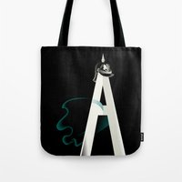 Tyranny of the Alphabet Tote Bag