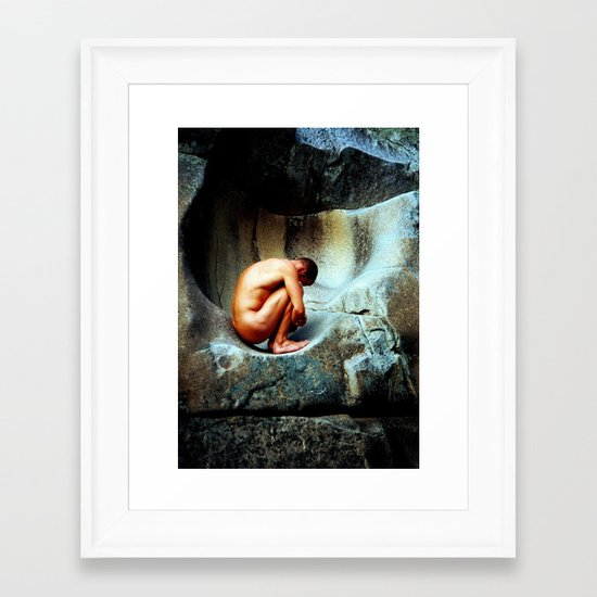 In Utero Framed Art Print