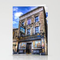 Prospect Of  Whitby Pub … Stationery Cards