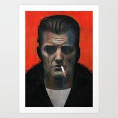 Josh Homme Art Print