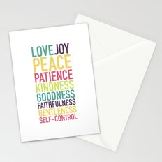 Fruits of the Spirit Stationery Cards