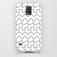 Galaxy S5 Cases featuring Waves by Beyond Infinite