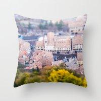 Miniature Country San Ma… Throw Pillow