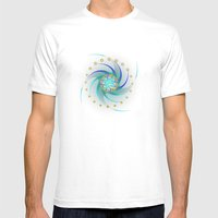 Fleuron Composition No. … Mens Fitted Tee White SMALL