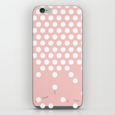 Polka Dots Bounce iPhone & iPod Skin