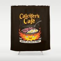 Calcifer's Cafe Shower Curtain