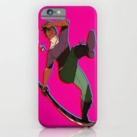 iPhone Cases featuring Nico by Monkan