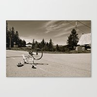Misadventures Canvas Print