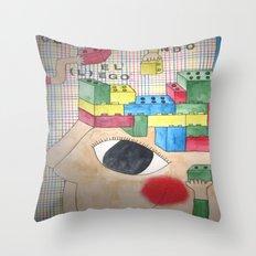 Lego Throw Pillow