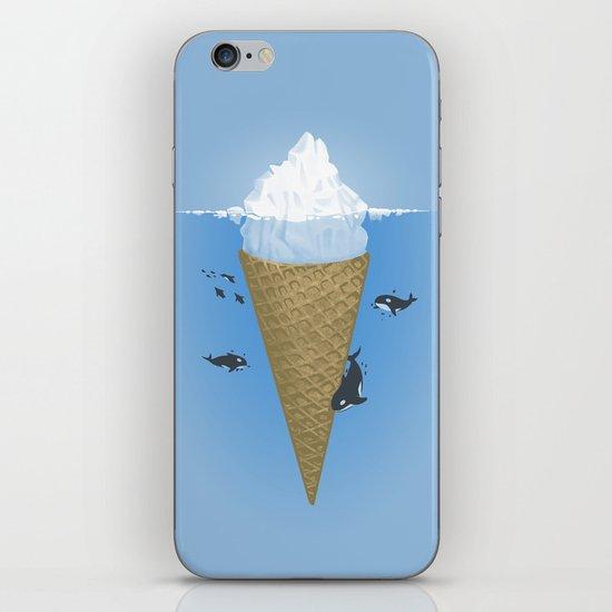 Hidden part of icebergs iPhone & iPod Skin