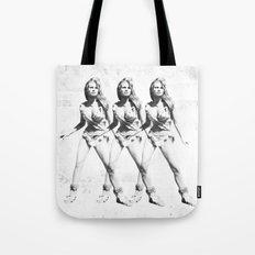 Raquel Welch in Triplicate Tote Bag