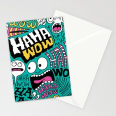 Laughing Pattern Stationery Cards