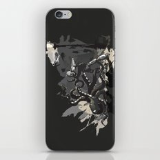 Octopus Wrestling with a Robot iPhone & iPod Skin