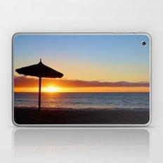 Desert Island Sunset beach Laptop & iPad Skin