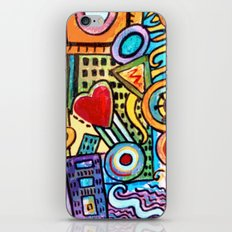 Pretty City iPhone & iPod Skin