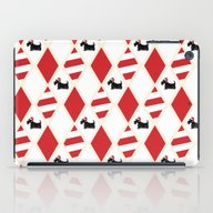 Scottie Dog Christmas Pa… iPad Case