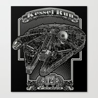 Kessel Run Canvas Print