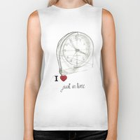 Just in time Biker Tank