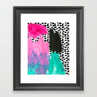 BAM! Framed Art Print