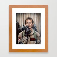 Bill Murray / Ghostbusters / Peter Venkman Framed Art Print