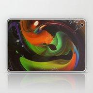 An Alien Orange Laptop & iPad Skin