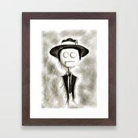 Pete Doherty Framed Art Print
