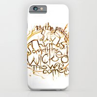 Something Wicked Macbeth Shakespeare Illustration iPhone 6 Slim Case