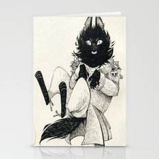 DOMESTIC WEREWOLF Stationery Cards