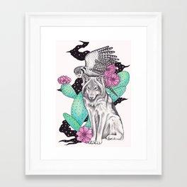 Framed Art Print - Allies - Andrea Hrnjak