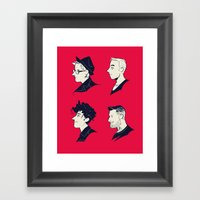 We Are The Fall Out Framed Art Print