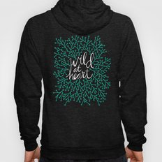 Wild at Heart – Turquoise & Gold Hoody